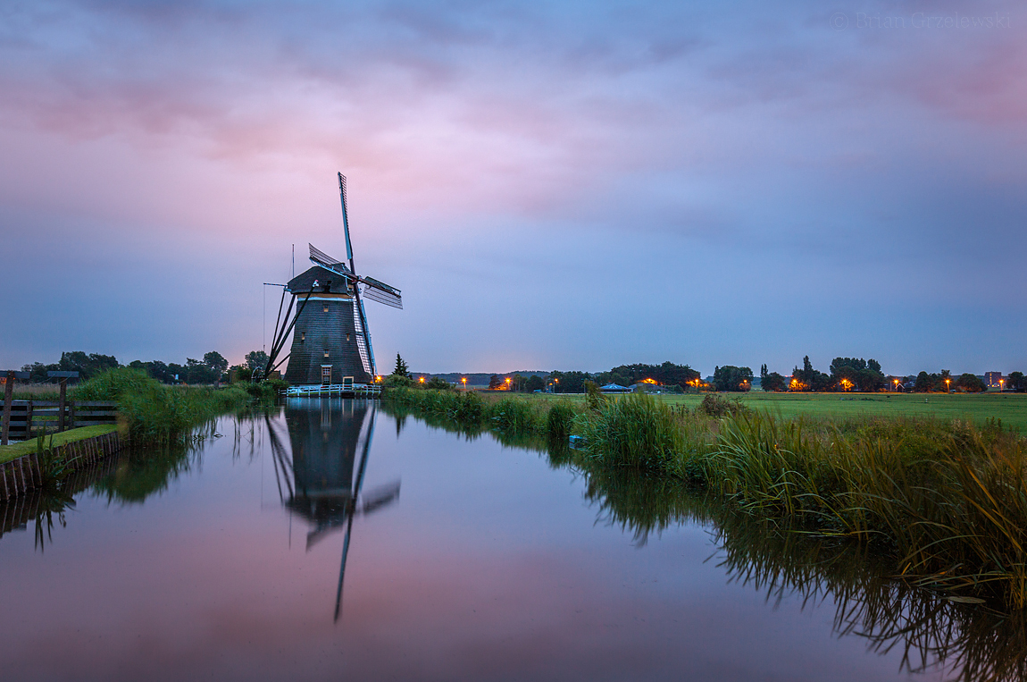 Windmill-at-Dawn