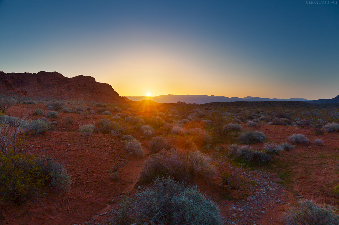 Nevada-Sunrise
